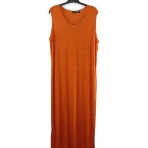 Jean Marc Philippe Maxi Dress Burnt Orange Long